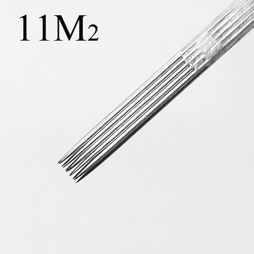 50 Pcs Tattoo Needles Double Stack Magnum 11M2