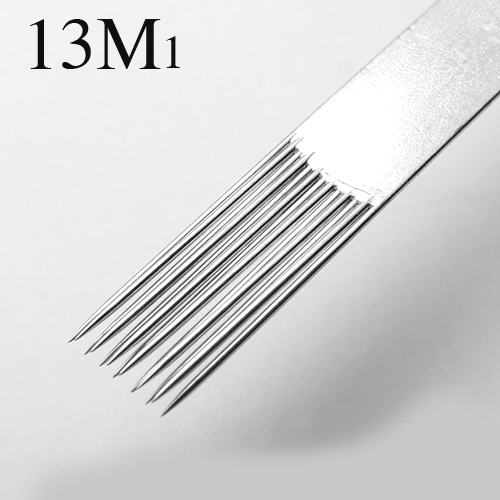 50 Pcs Tattoo Needles Single Stack Magnum 13M1