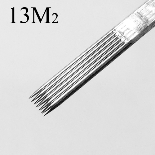 50 Pcs Tattoo Needles Double Stack Magnum 13M2