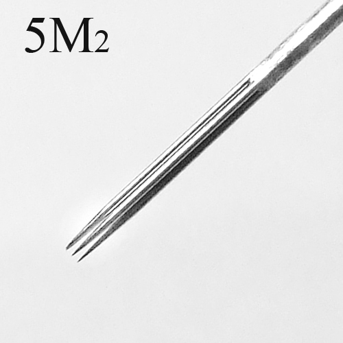 50 Pcs Tattoo Needles Double Stack Magnum 5M2 - Click Image to Close