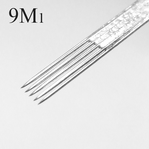 50 Pcs Tattoo Needles Single Stack Magnum 9M1