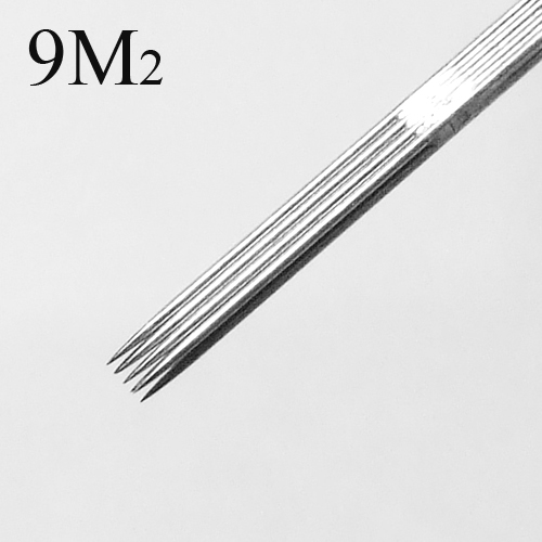 50 Pcs Tattoo Needles Double Stack Magnum 9M2